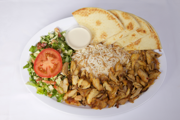 Chicken Doner Plate